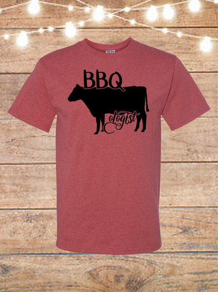 BBQologist Cow T-Shirt