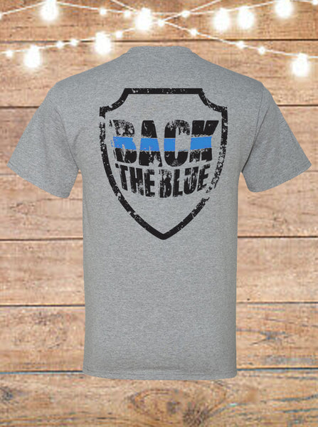 Back The Blue T-shirt