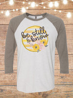 Be Still And Know Raglan T-Shirt