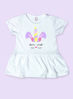 Bunny Unicorn Easter Infant and Toddler Shirt