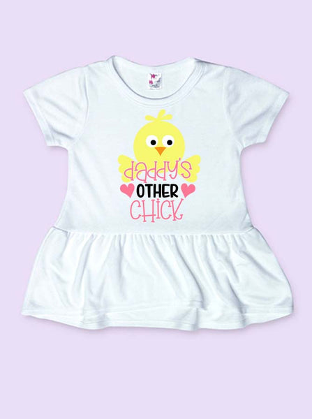 Daddy's Other Chick Infant and Toddler Easter Shirt