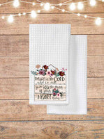 Delight In The Lord Kitchen Towel