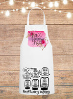 Grace Upon Grace Cheat Sheet Apron