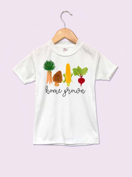 Home Grown Vegetables Infant and Toddler T-Shirt