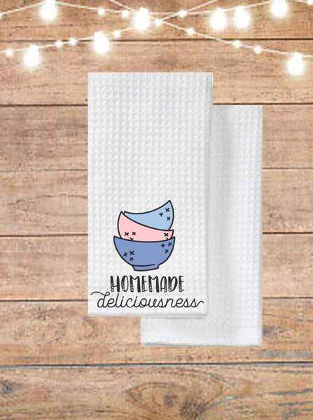 Homemade Deliciousness Kitchen Towel