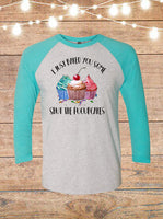 I Just Baked You Some Shut The Fucupcakes Raglan T-Shirt