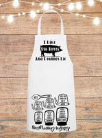 I Like Pig Butts And I Cannot Lie Cheat Sheet Apron