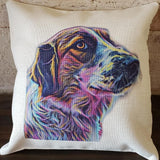 Pet Portrait Pillow