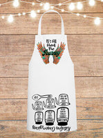 It's All About The Journey Cheat Sheet Apron