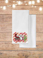 Junky Merry Christmas Kitchen Towel