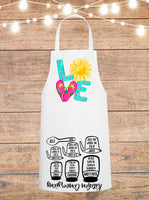 Love Summer Cheat Sheet Apron