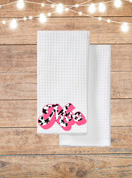 Moo Cow Kitchen Towel