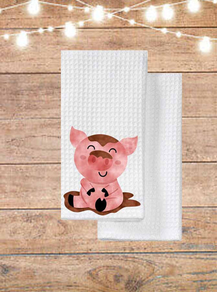Pig In Mud Kitchen Towel