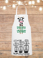Raising The Steaks Cow Cheat Sheet Apron