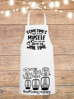 Sometimes I Have To Tell Myself It's Just Not Worth The Jail Time Cheat Sheet Apron