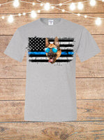 Thin Blue Line K-9 T-Shirt