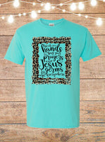 Wash Your Hands And Say A Prayer Because Germs And Jesus Are Everywhere T-Shirt