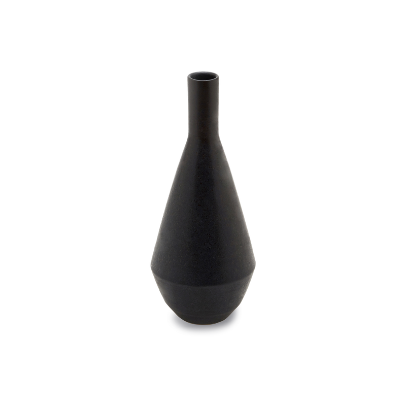 Erlenmeyer Vase in Pitch
