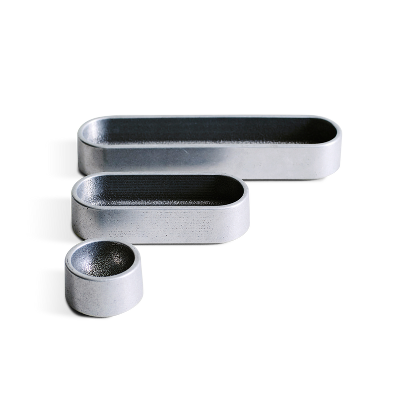 Stack Tray (Set of 3) in Aluminum