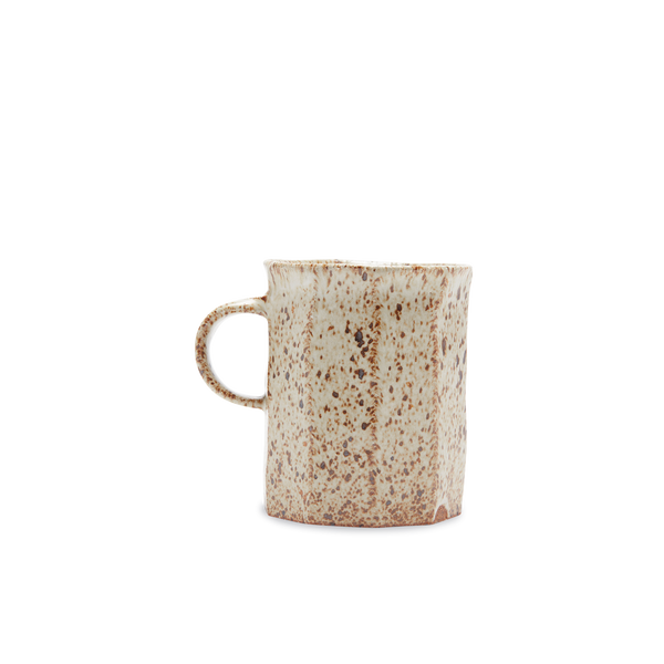Speckled Flat Stripe Mug