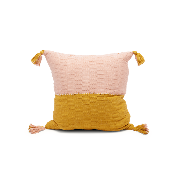 Antigua Pillow in Yellow/Pink
