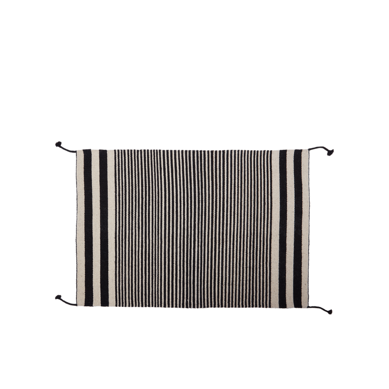 Zapotec Flat Weave Striped Rug