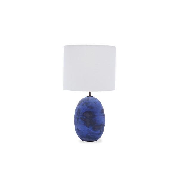 Blue Black Lamp