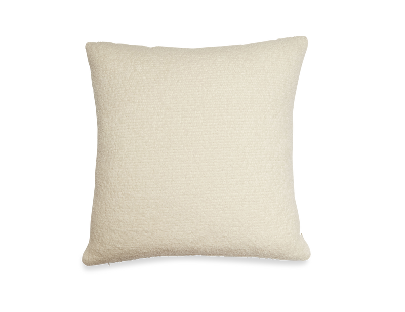 Boucle Pillow in White