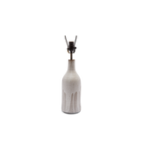 Poured Bottle Lamp in White