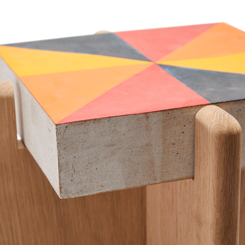 MQuan Rainbow Prism Side Table