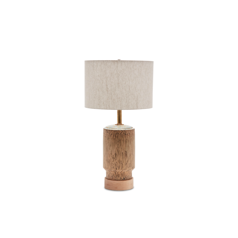 Tan Rubini Lamp