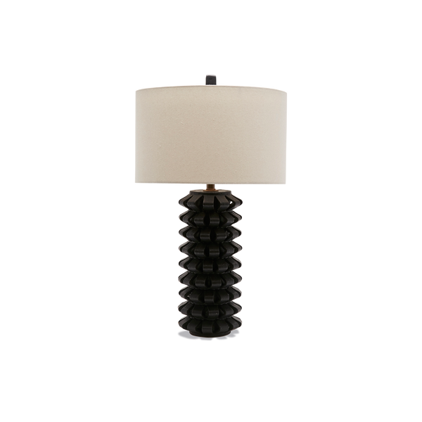 Black Domino Lamp