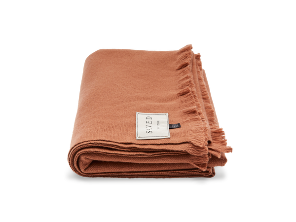 Rust Throw Blanket