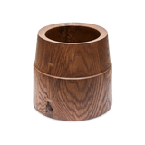 Large Walnut Crock Vessel