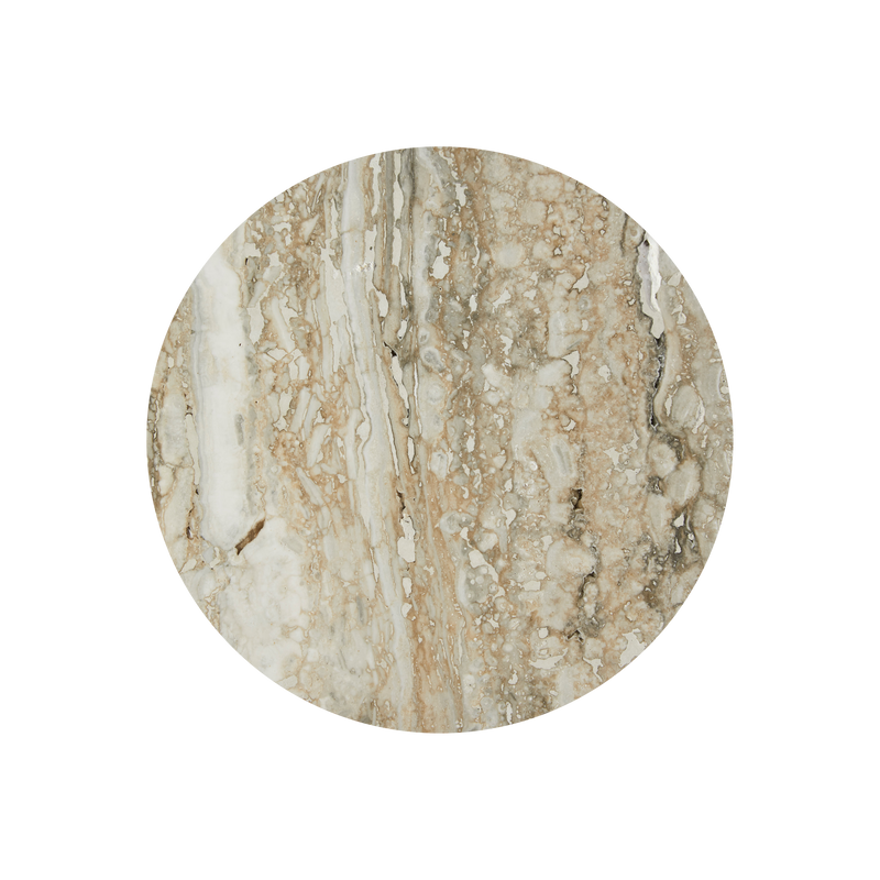 Polished Silver Travertine