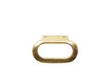Brass Oval Pull