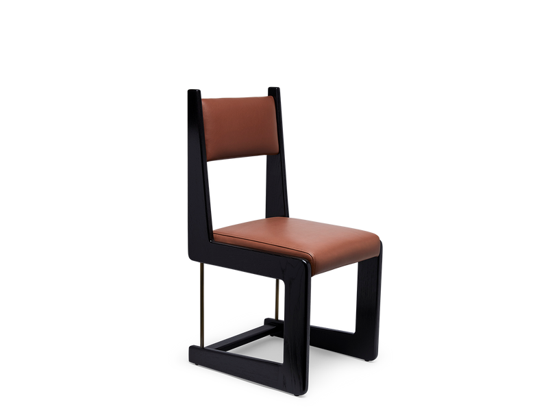 Cruz Dining Chair - Upholstered Back