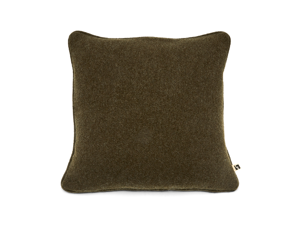 Boiled Wool Pillow in Loden