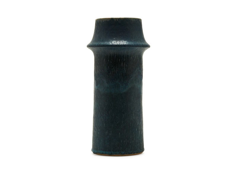 Tall Ridge Blue Vase