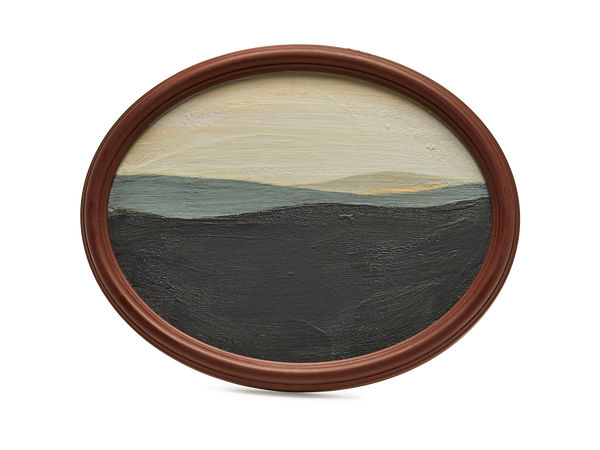 Oval Landscape Medium