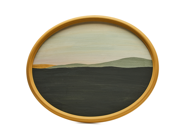 Oval Landscape Large