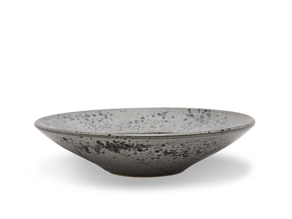 Large Flat Out Bowl #11 - Grey