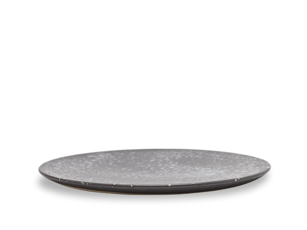 Large Flat Plate #6 - Black and White