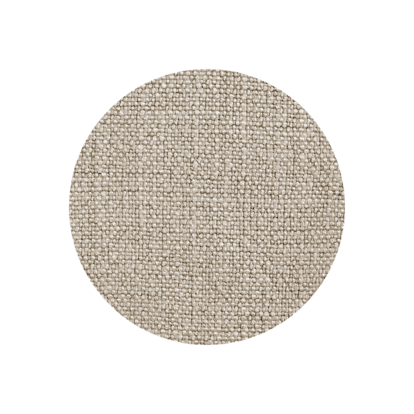 Brushed Linen Blend - Pebble