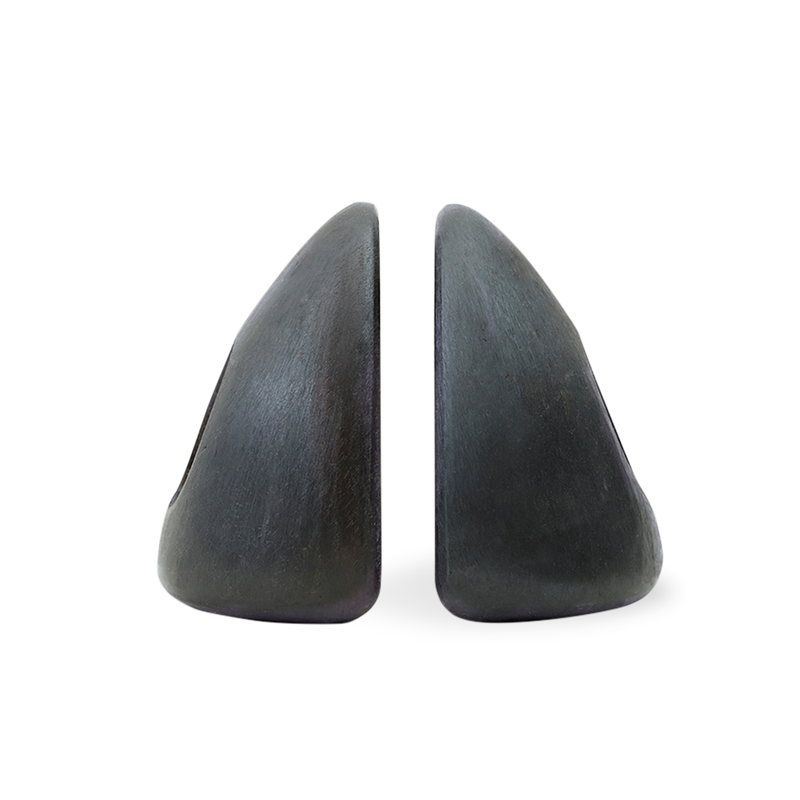 Pebble Bookends with Cutout
