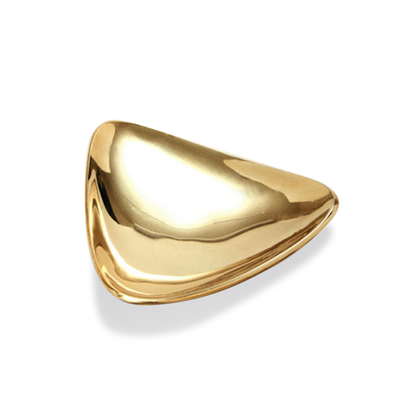 Brass Triangle Dish