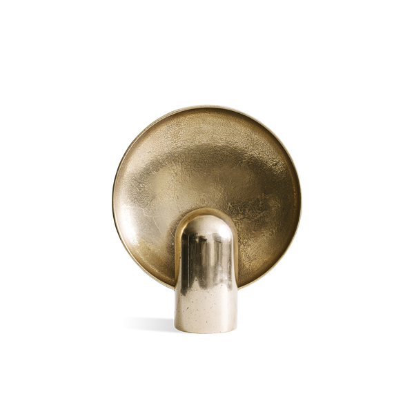 Surface Sconce in Polished Bronze