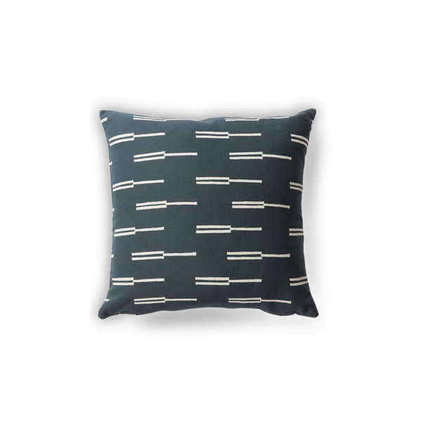 Navy Roadside Pillow