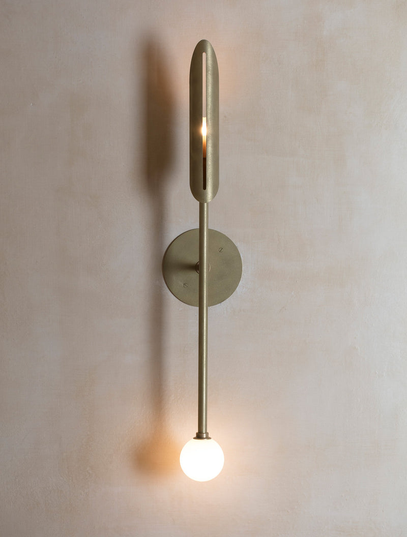 "Voyager 11"" Orb Sconce"