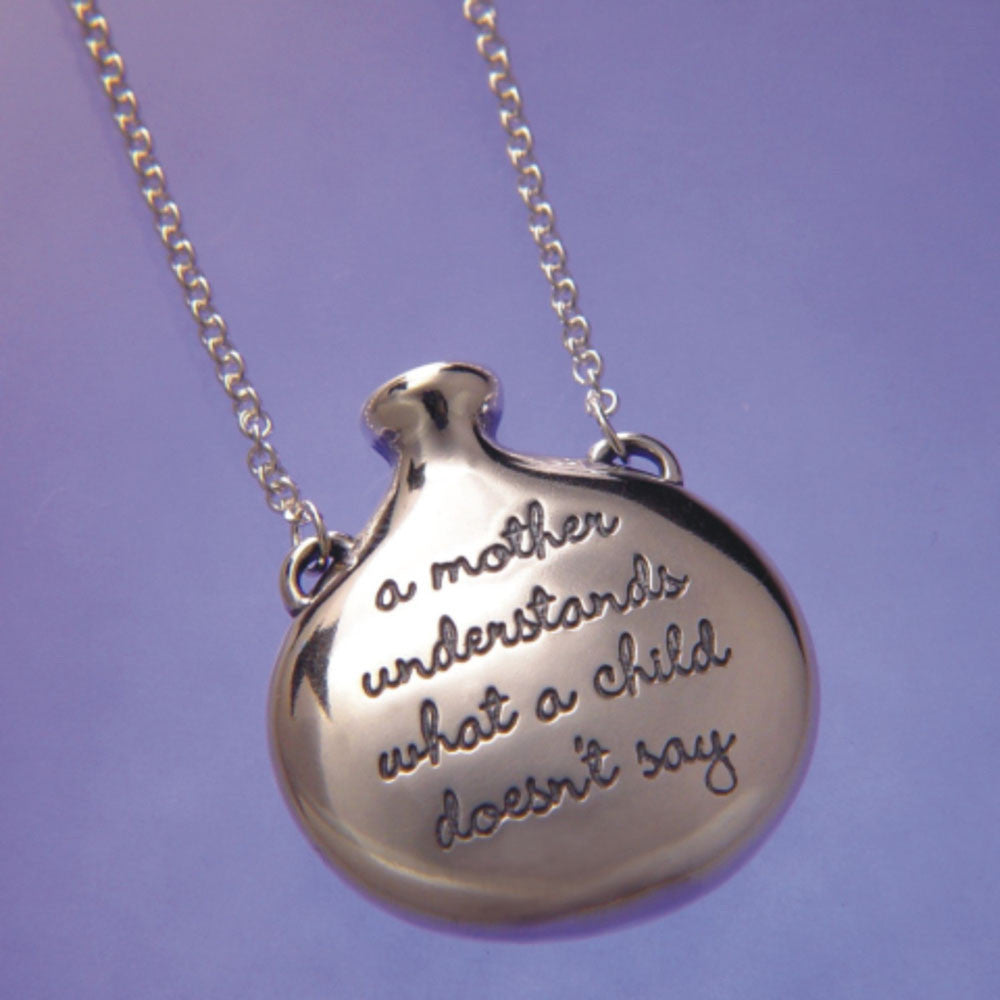 A Mother Understands Sterling Silver Necklace